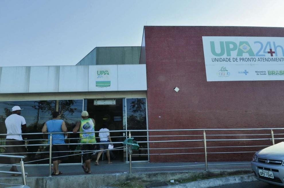O idoso ficou internado na UPA de Carapina, na Serra. Crédito: Arquivo