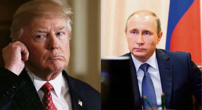 Donald Trump e Vladimir Putin. Crédito: Divulgação