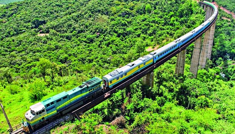 Ferrovia Vitória-Minas será ampliada. Crédito: Agência Vale