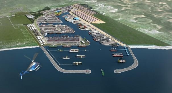 Porto Central será construído em Presidente Kennedy