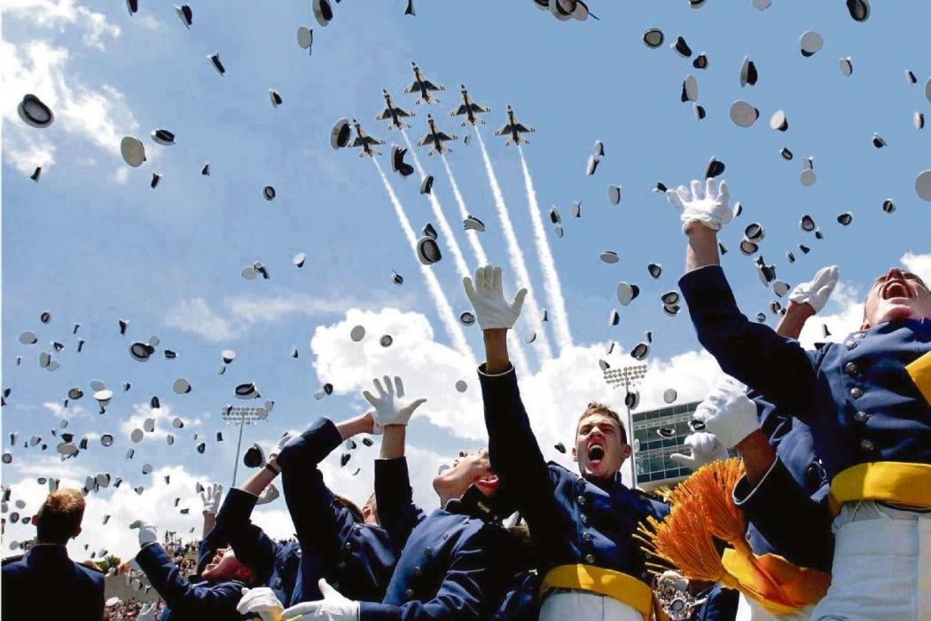 Formatura do Curso de cadetes do ar da Aeronáutica. Crédito: Reprodução internet
