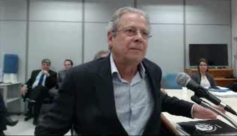 Ex-ministro José Dirceu vira réu pela 3º vez na Lava Jato