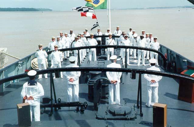 Marinha Mercante oferece 30 vagas para moço de convés. Crédito: Reprodução internet