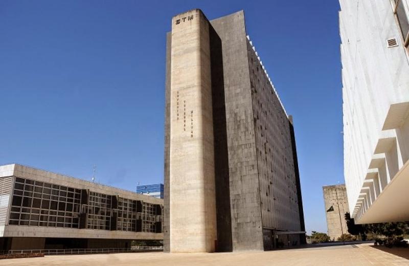 Sede do Superior Tribunal Militar, em Brasília. Crédito: Reprodução internet