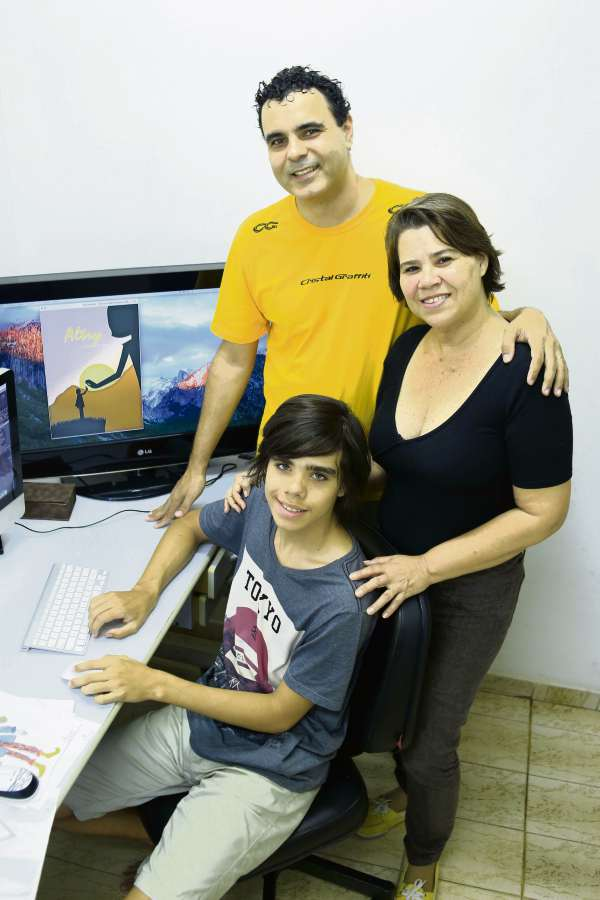 Eduardo e Sheridan são pais de Miguel, que tem déficit de atenção e hiperatividade