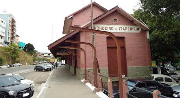 Museu Ferroviário de Cachoeiro de Itapemirim. Crédito: Divulgação