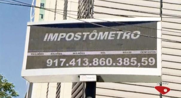 Brasileiro já contribuiu no ano com quase R$ 3 trilhões em impostos