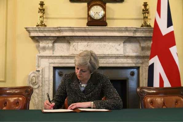 Theresa May, primeira-ministra britânica. Crédito: Divulgação