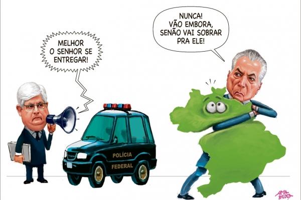 Charge do Amarildo - 20/06/2017