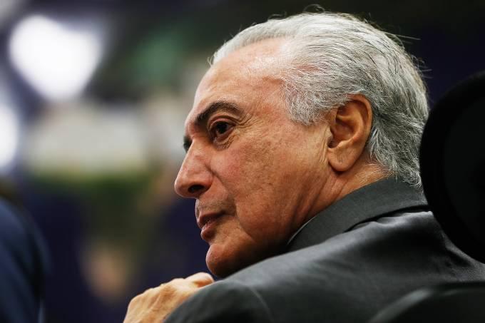 Michel Temer, ex-presidente da República. Crédito: Beto Barata | Divulgação