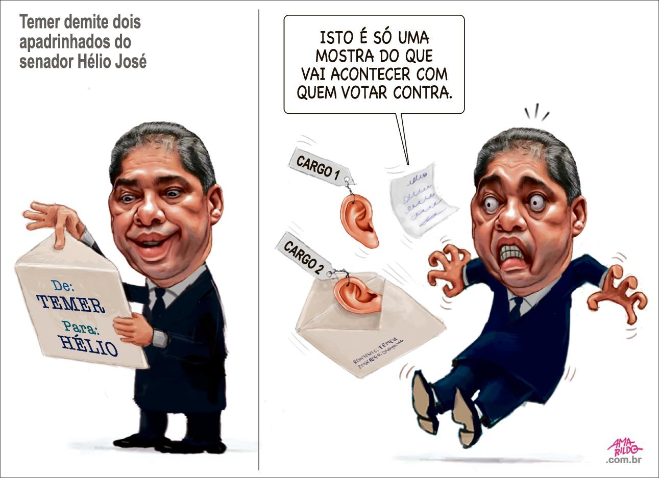 Charge do Amarildo - 25/06/2017