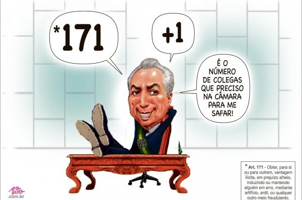 Charge do Amarildo - 27/06/2017