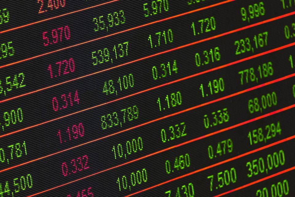 Mercado financeiro. Crédito: Pixabay