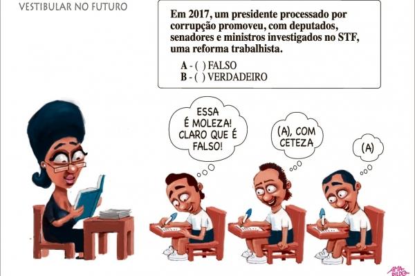 Charge do Amarildo - 15/07/2017