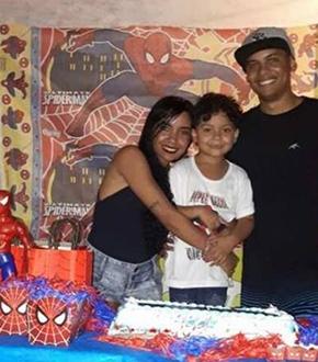 Dalila, o filho dela, Nicolas, e o namorado, Edilson, morreram no acidente
