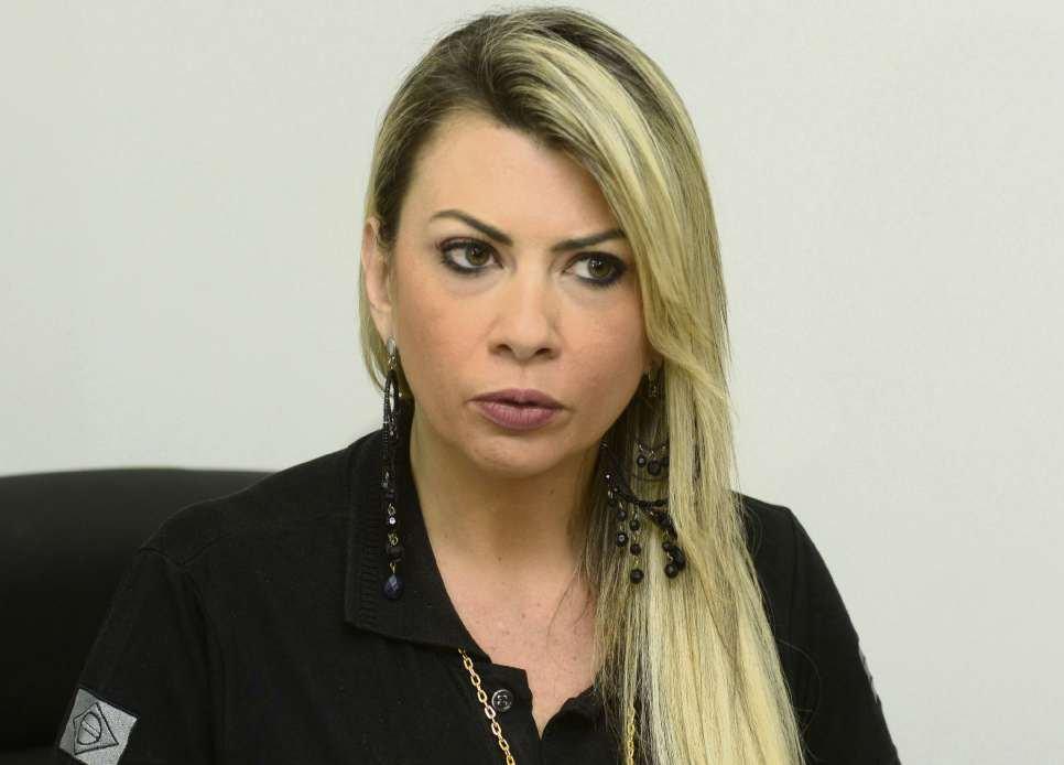 Delegada Cláudia Dematté. Crédito: Arquivo