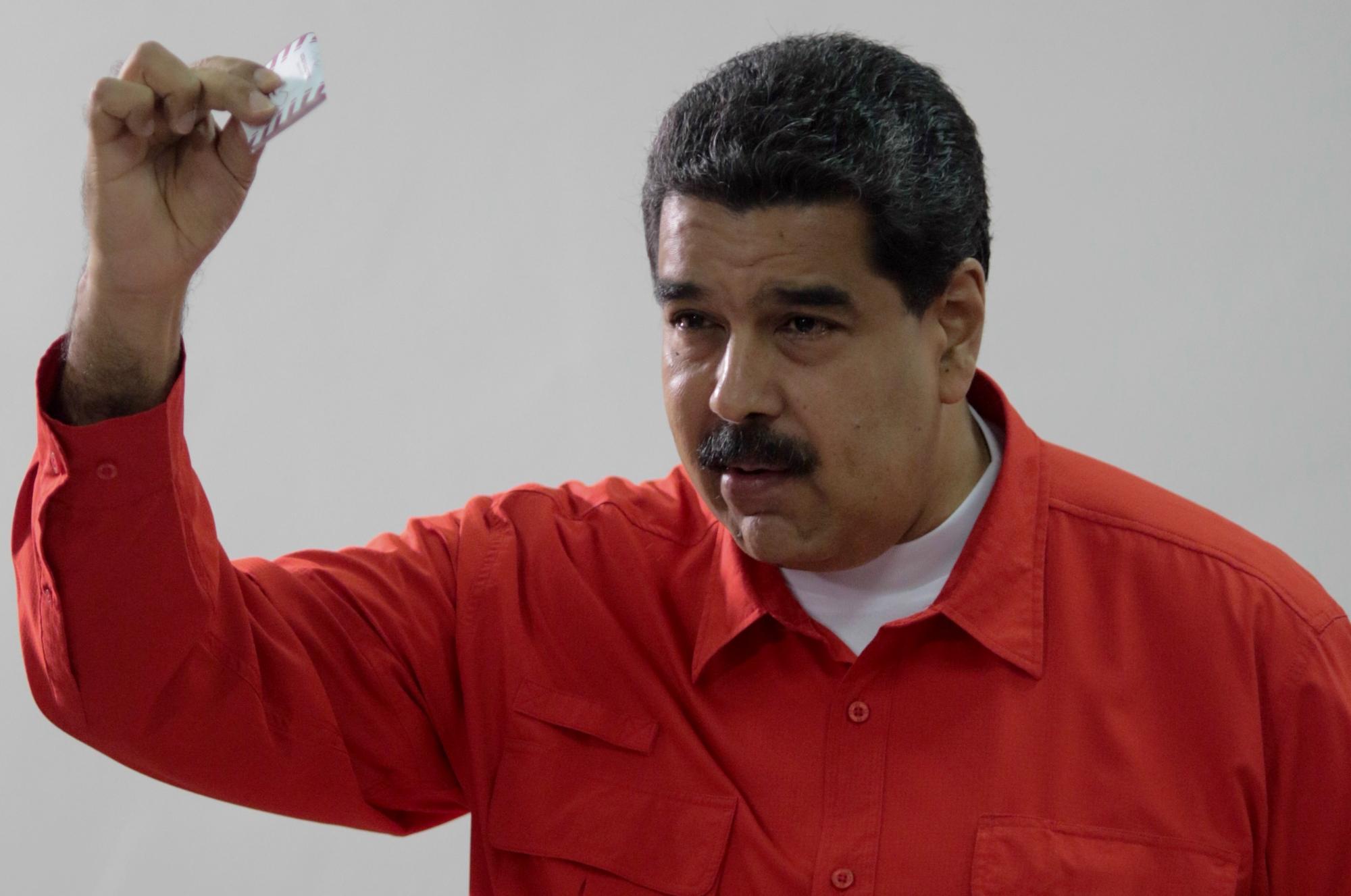 Nicolás Maduro. Crédito: Miraflores | Xinhua | AE
