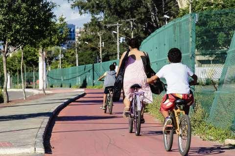 Jardim Camburi vai ganhar nova ciclovia . Crédito: Renata Salvalaio