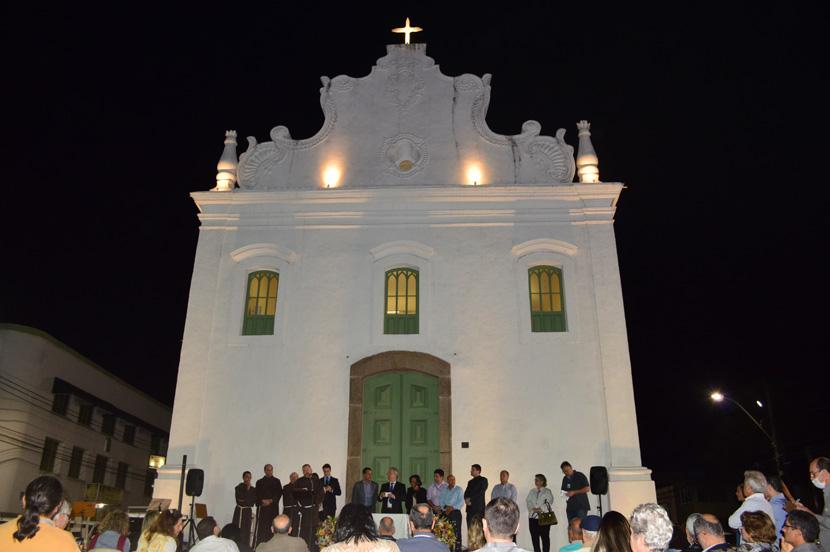 Acordo permite Igreja do Rosário aberta para visitação