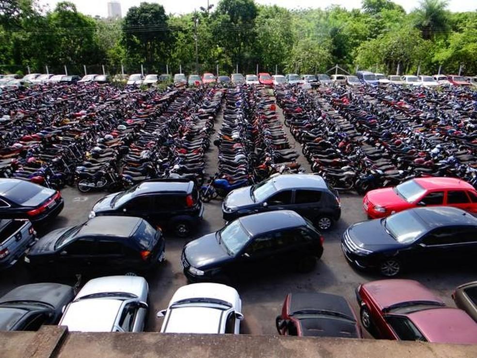 Veículos em feirão de automóveis. Crédito: Divulgação