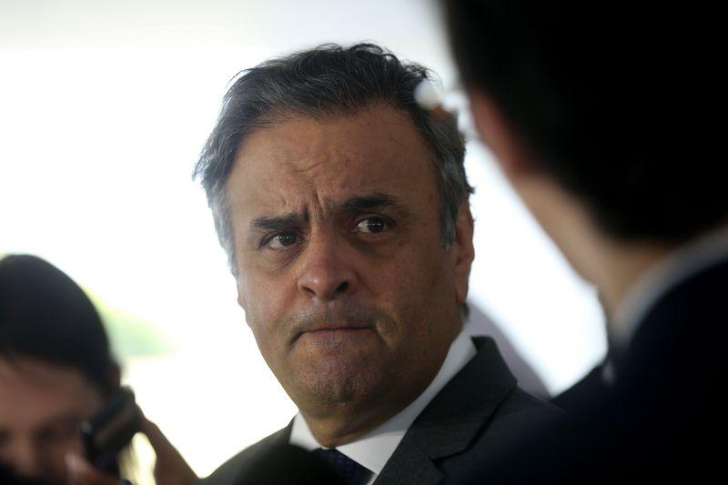 O senador Aécio Neves (PSDB). Crédito: Wilson Dias/Agência Brasil