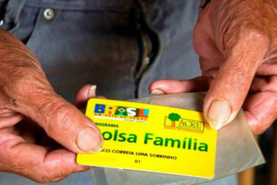 Bolsa Família: o programa foi criado em 2003. Crédito: Ministério do Desenvolvimento Social | Divulgação