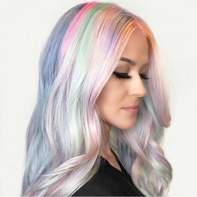 esta tinta de cabelo muda de cor de acordo com a