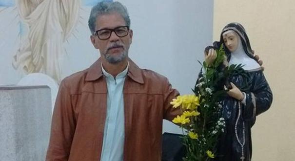José Francisco foi agredido com um paralelepípedo durante um assalto em Vila Velha