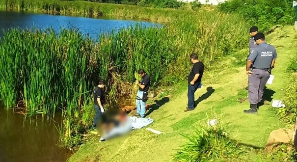 Corpo é encontrado em lagoa do bairro Aparecida, em Cariacica