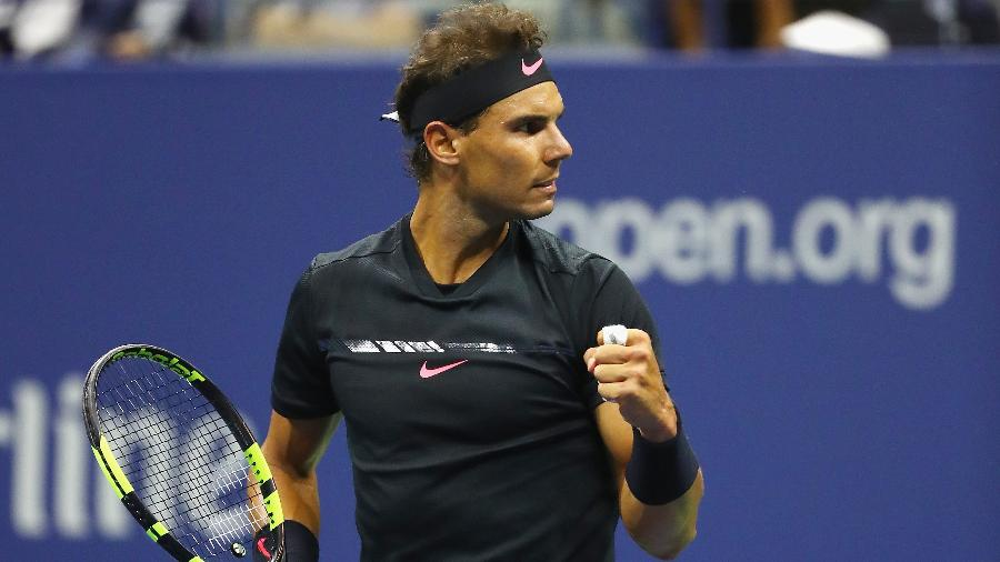Rafael Nadal. Crédito: Al Bello/Getty Images/AFP