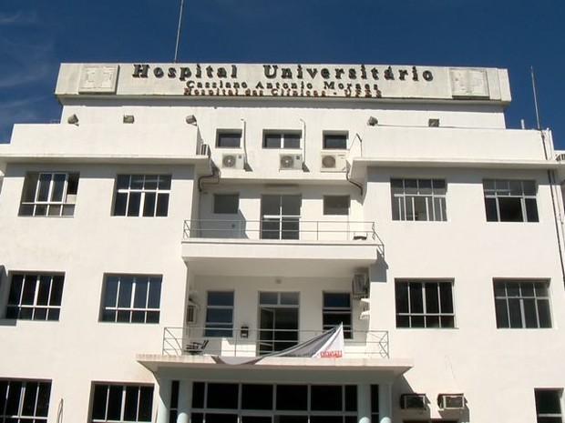 Hospital Cassiano Antonio Moraes (Hucam), em Maruípe, Vitória . Crédito: Reprodução/TV Gazeta