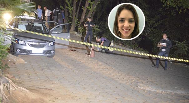 Milena foi baleada na cabeça no estacionamento do Hucam