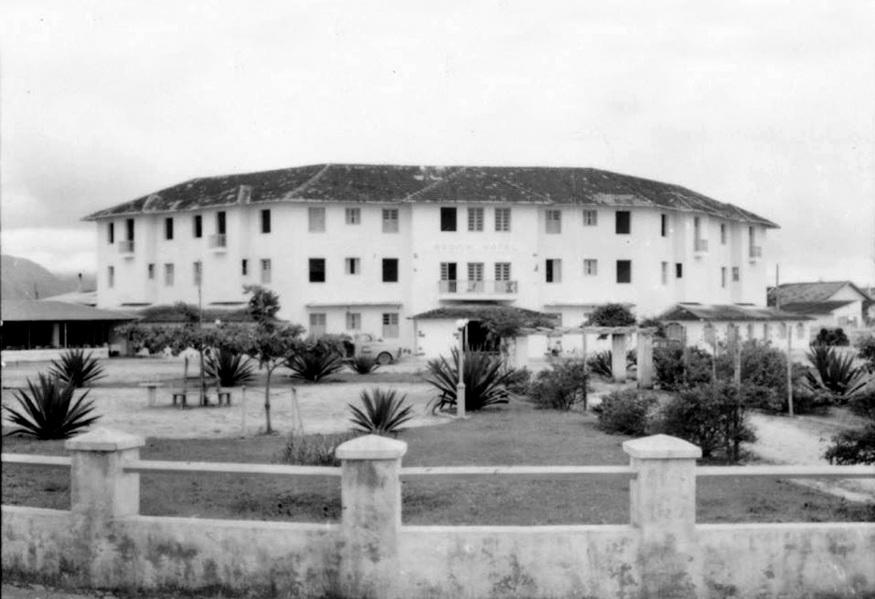 Radium Hotel, no centro de Guarapari, funcionava como hotel de alto padrão