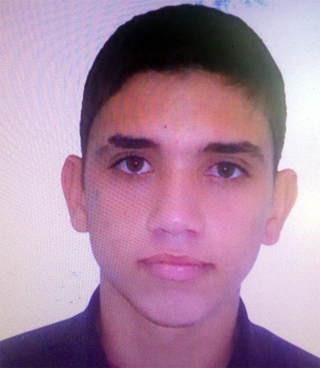 Dionathas Alves Vieira foi preso no último sábado e é acusado de ser o atirador que matou Milena