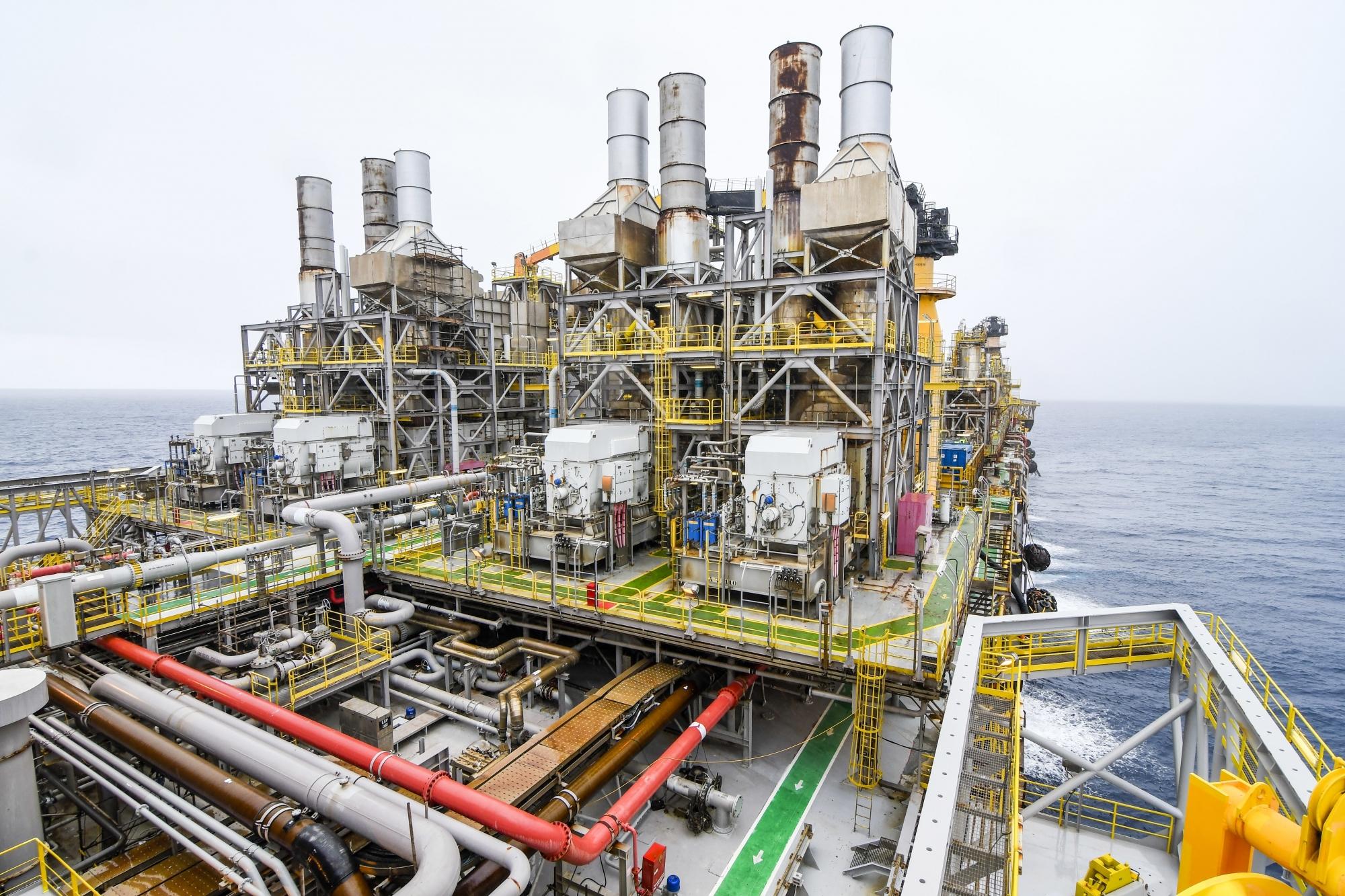 Vídeo mostra como é por dentro uma plataforma de petróleo no