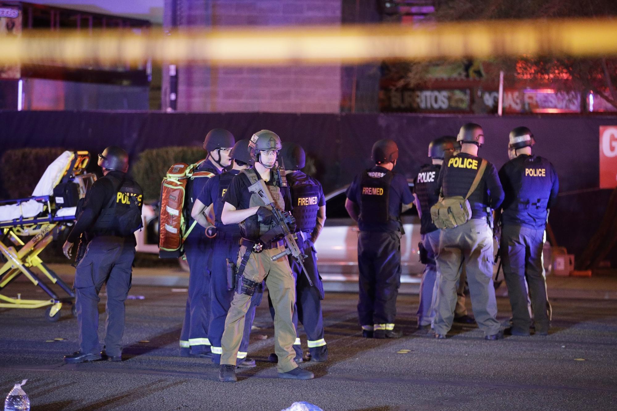 Tiroteio em Las Vegas deixa 50 mortos e mais de 400 feridos