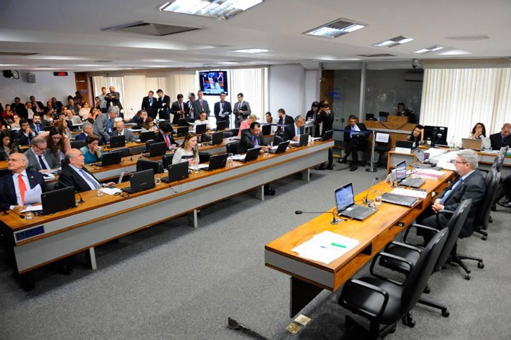 Líderes articulam mudanças na PEC da Previdência já na CCJ. Crédito: Pedro França | Agência Senado