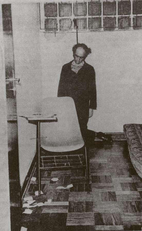 Imagem de divulgação do jornalista e professor Vladimir Herzog, encontrado morto em uma cela do Comando do II Exército, em São Paulo, após tortura