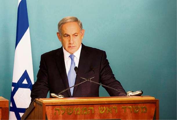 Benjamin Netanyahu, premiê de Israel. Crédito: AP