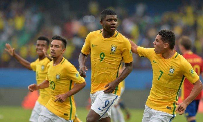 Lincoln, atacante do Flamengo. Crédito: Divulgação