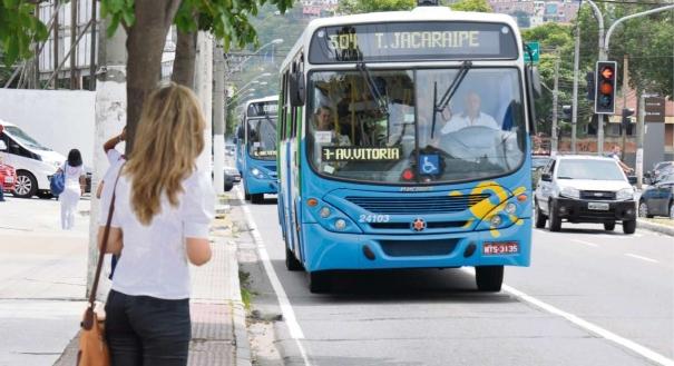 nibus do Sistema Transcol no incio deste ano a tarifa do transporte coletivo j passou por uma correo e ficou R 045 mais cara