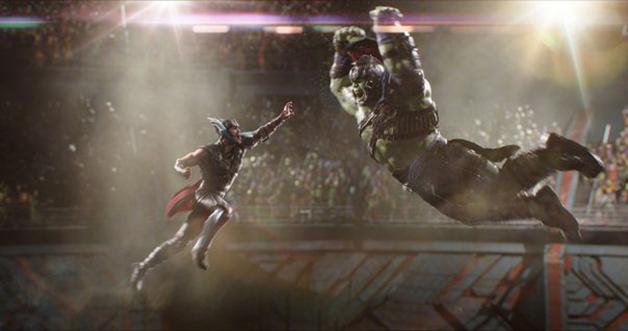 Thor e Hulk brilham em novo filme