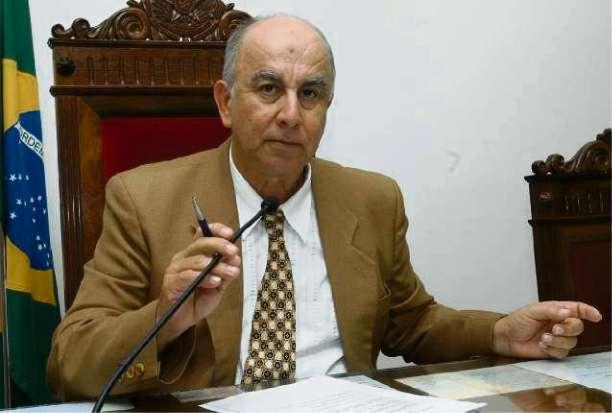 Valci Ferreira no Tribunal de Contas ainda em 2007, antes de ser afastado  . Crédito: Chico Guedes/ Arquivo