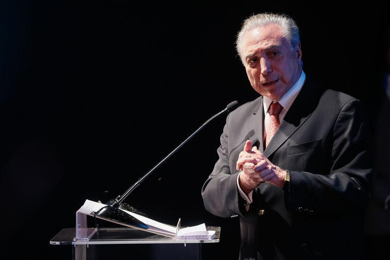 Michel Temer volta para Brasília após repouso pós-cirurgia em São Paulo