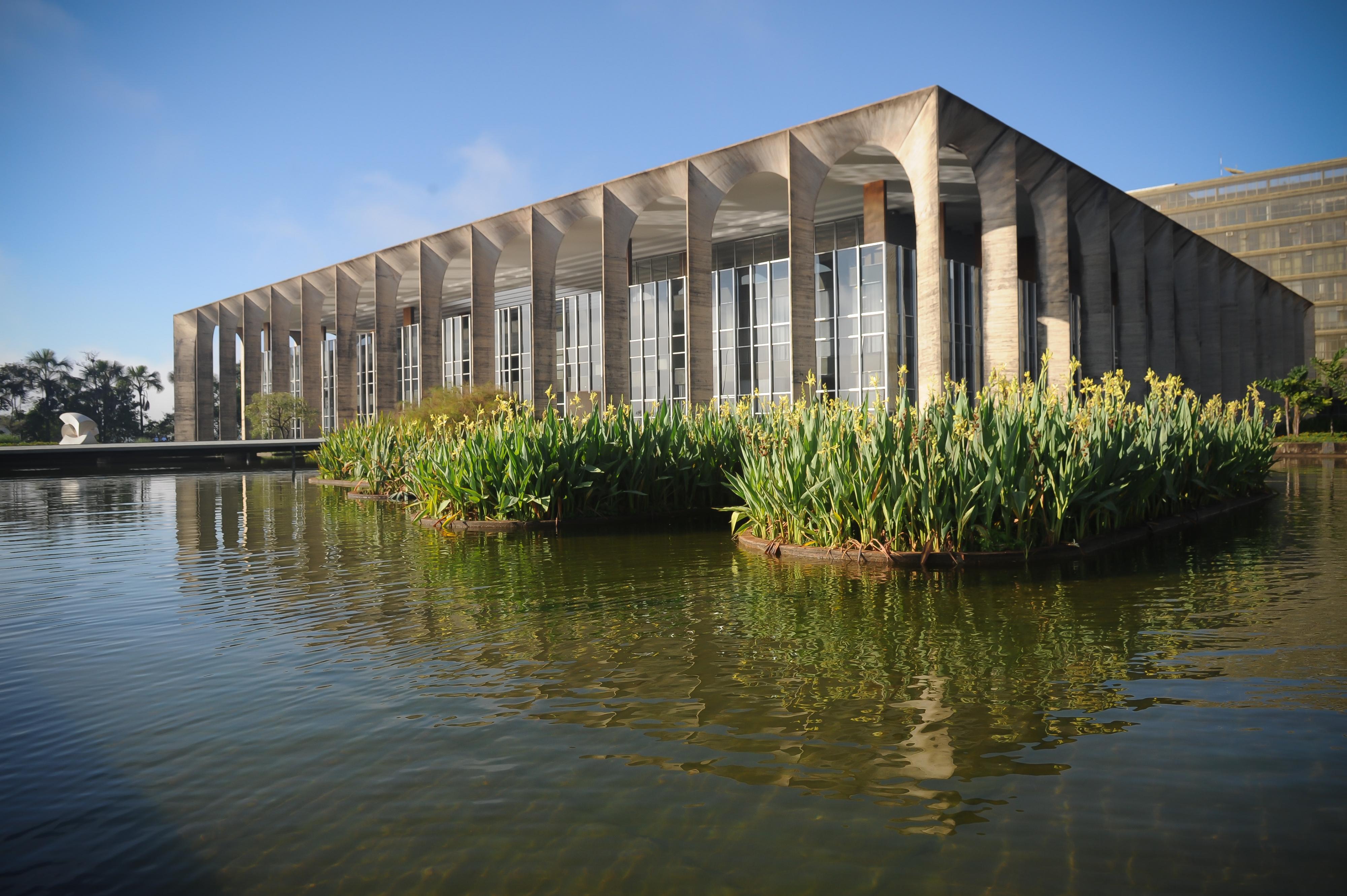 Palácio Itamaraty, sede do Ministério das Relações Exteriores do Brasil, em Brasília. Crédito: Reprodução/Divulgação