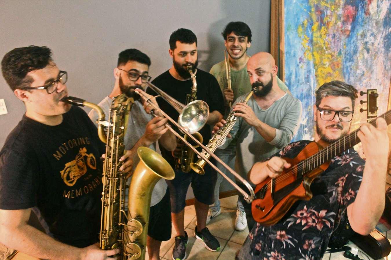 O grupo Orizzonti Sexteto surgiu em 2015 através de uma pesquisa musical  realizada por Wanderson Lopez . Crédito: Giovani Malini