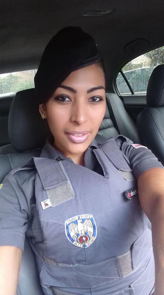 Soldado Aparecida Mendes Machado, de 30 anos . Crédito: Reprodução/Facebook
