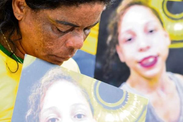 Clemilda Jesus fez protestos em busca de respostas sobre a filha raptada
