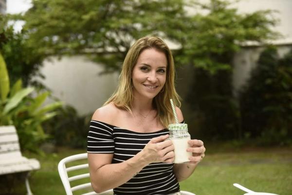 A empresária Fernanda Pignaton consome kefir há mais de um ano