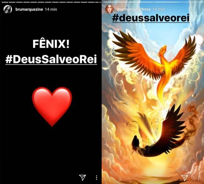 Bruna Marquezine E Marina Ruy Barbosa Comentam Incêndio Na Globo